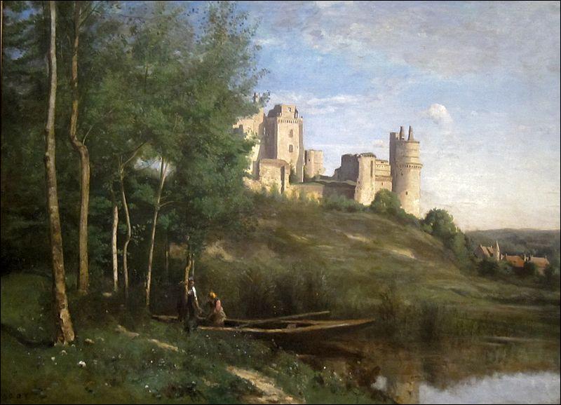 """Qui a représenté """"Les Ruines du château de Pierrefonds"""" ?"""