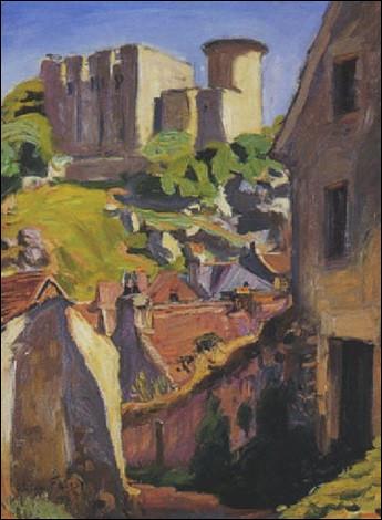 """Qui a peint """"Le Château-fort de Falaise"""" ?"""