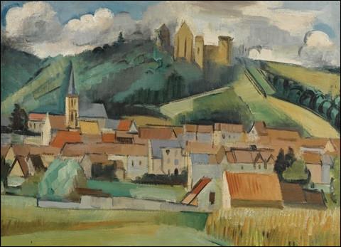 """Qui a représenté le """"Village sous le château"""" ?"""