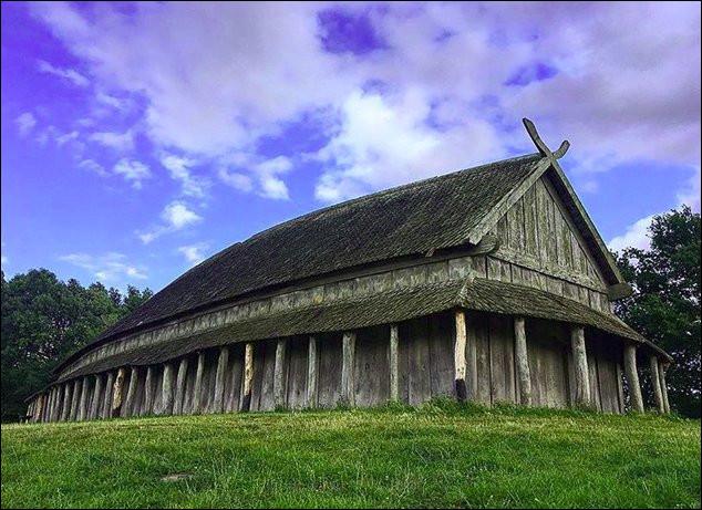Voici l'une des sept forteresse circulaire du monde découvertes à ce jour. Celle-ci se trouve au Danemark, à Slagelse plus exactement. Comment appelle-t-on ces constructions ?