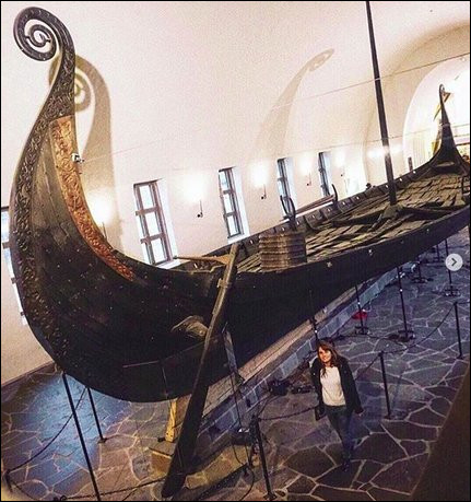 Voici l'un des plus grand bateau retrouvé jusqu'alors, celui d'Oseborg. Quelle réflexion vous inspire cette image ?