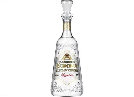 Russe ou polonaise, boisson alcoolisée incolore titrant environ 40 degrés :