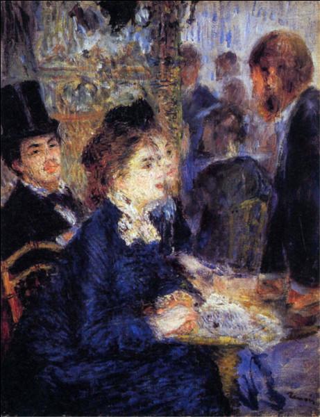"""Qui a réalisé le tableau """"Au café"""" ?"""