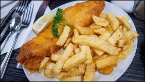 Rien de tel qu'un bon fish and chips, spécialité :