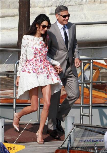 Où s'est célébré le mariage à 2 millions de dollars de George Clooney et Amal ?