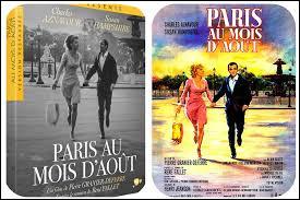 Quel acteur et chanteur interprétait ''Paris au mois d'août'' et avait le premier rôle dans le film éponyme ?
