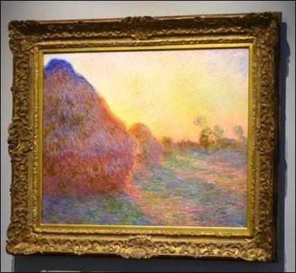 """Qui est l'artiste, auteur de cette toile intitulée """"Les Meules"""" et vendue pour 110, 70 millions de dollars, à New York, et la plaçant au rang des tableaux les plus chers du monde ?"""