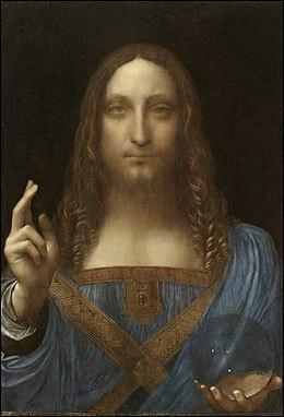 """Parmi les tableaux les plus chers au monde, voici """"Salvator Mundi"""" vendu 450 M$ à Mohamed Ben Salmann prince héritier d'Arabie saoudite. De qui est cette œuvre ?"""