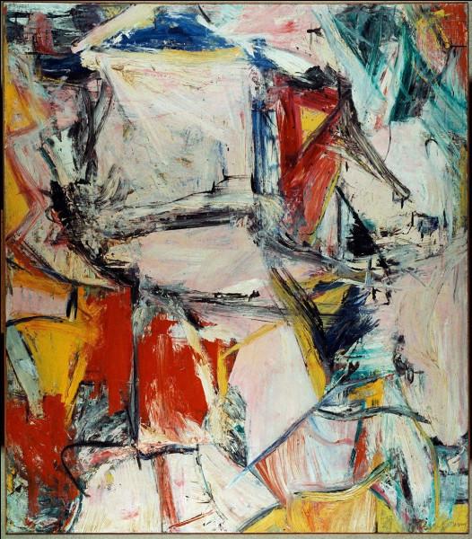 """Ensuite en troisième position, vient la toile d'un peintre d'origine néerlandaise, intitulée """"Interchange"""" et vendue 300 M$, au richissime Kenneth C. Griffin qui l'a achetée en 2015. Qui est ce peintre ?"""