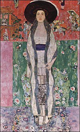 """Qui a réalisé le """"Portrait d'Adele Bloch-Bauer"""" acquis à 135 M$, lors d'une vente privée, par le milliardaire Ronald Lauder ?"""