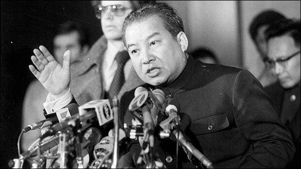Le coup d'Etat au Cambodge, le 18 mars 1970, est suivi de l'intervention américaine : quel est ce chef d'Etat renversé ?