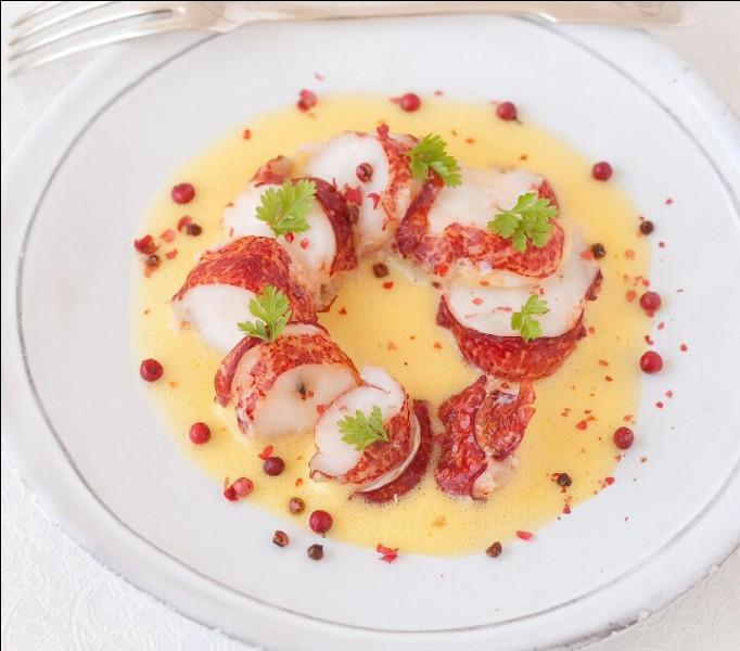 Assiette de homard au sabayon de champagne. Que faut-il faire pour engourdir le homard avant de le jeter vivant dans l'eau bouillante ?