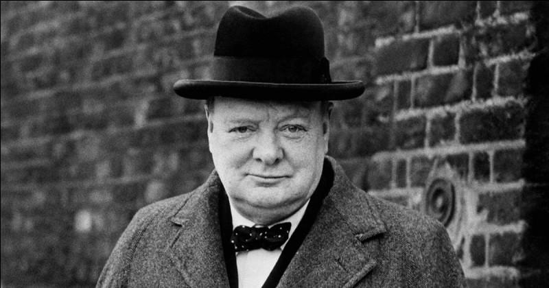 Sir Winston Churchill était l'ancien premier ministre...
