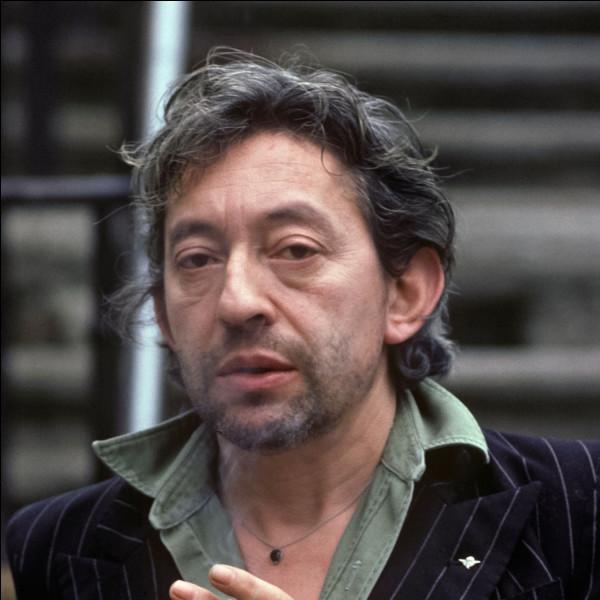 """En 1964, Serge Gainsbourg chantait """"Couleur ... """""""