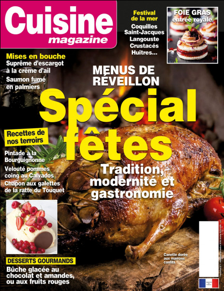 La médiathèque est abonnée à un magazine de cuisine, quel est son nom ?