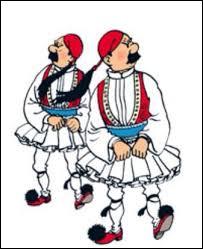 Cette apparition est restée dans les mémoires : Les Dupondt, croyant faire 'local' en Syldavie, ont revêtu le costume national ..., chaussés de leurs ... ! Dans quel album, au juste ?