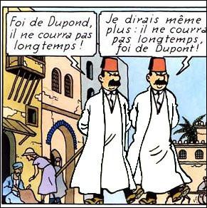 Nos godelureaux avaient juste un peu de retard, croyant l'Égypte toujours ottomane [Jusqu'à quelle date le fut-elle ?]. Mais quant aux coloris de leurs habits, lesquels avaient-ils choisis ?