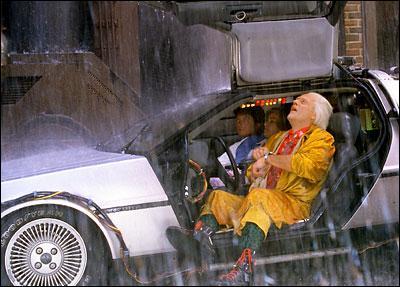 A quelle vitesse doit rouler la DeLorean pour passer d'une époque à une autre?