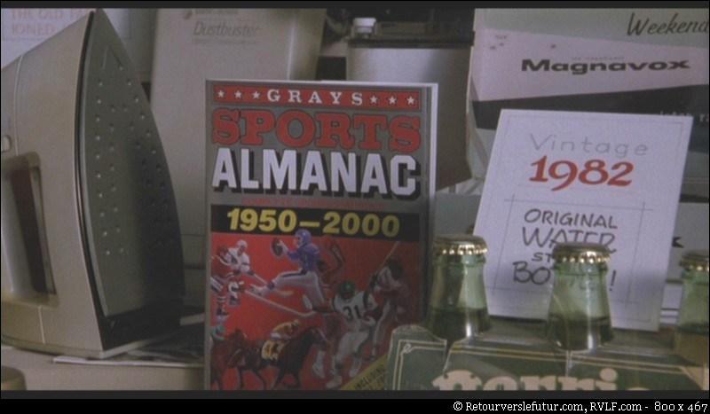 L'almanach apparaît dans quelle épisode? Pour quelle année?
