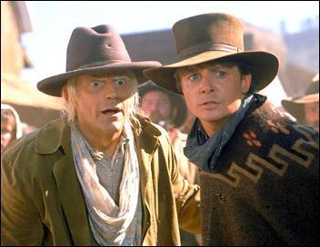 Que prennent Doc et Marty, juste après avoir pris leurs chevaux, à la fin du dernier épisode?