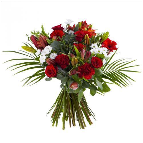 Un ... d'fleurs à la main - Il avance de ... coeur - Ou va donc cet ... !