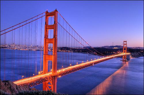 Où se trouve le pont du Golden Gate ?
