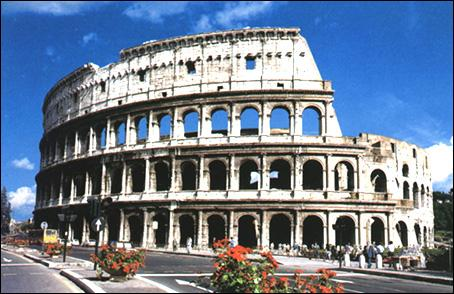 Sur quelle pièce en euro italienne le Colisée est-il représenté ?