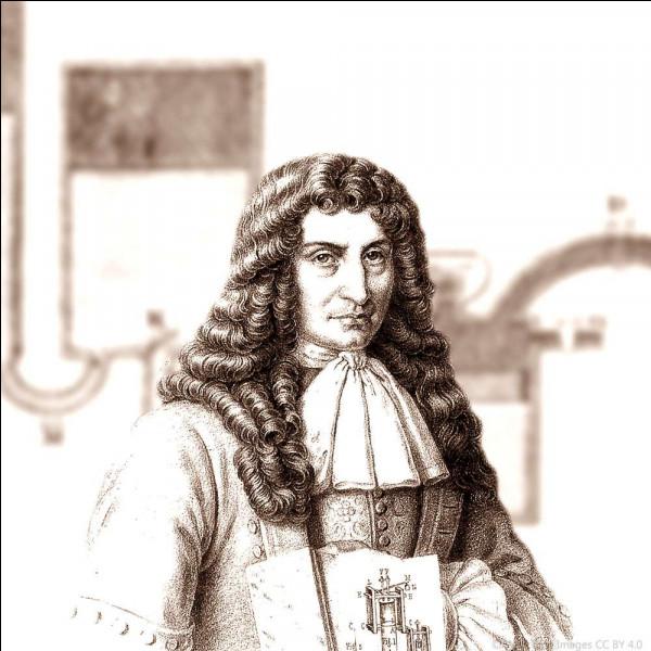 Ce mathématicien et physicien est connu pour ses travaux sur la machine à vapeur : il a construit, en 1678, une chaudière fermée avec une soupape et, en 1690, un prototype de piston : il se prénomme ...