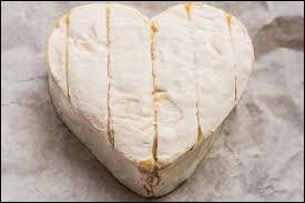 Ce drôle de fromage a une forme de cœur mais il est pourtant déconseillé de l'offrir pour la Saint-Valentin :