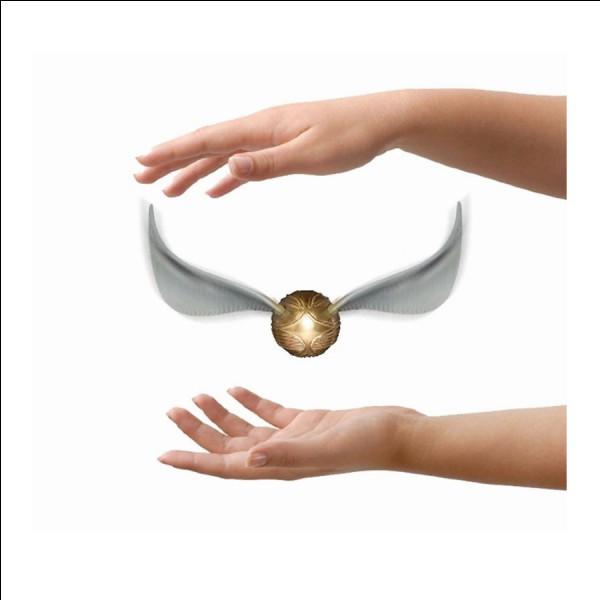 En combien de temps Harry attrape-t-il le Vif d'or lors du 2e match de quidditch ?