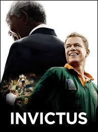 Quel grand événement sportif constitue le cadre du film Invictus ?