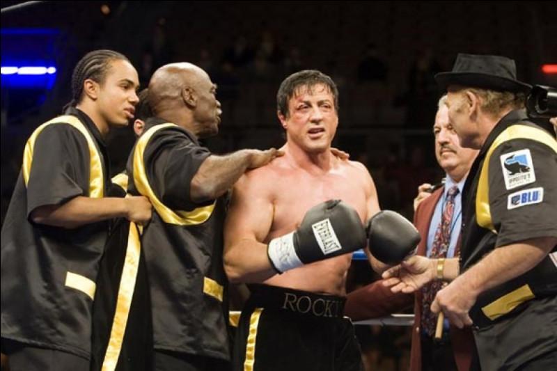 Quel est ce personnage de fiction et personnalité du monde de la boxe créé et interprété par Sylvester Stallone ?