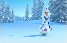 """Dans """"La Reine des neiges"""", comment s'appelle ce gentil bonhomme de neige ?"""