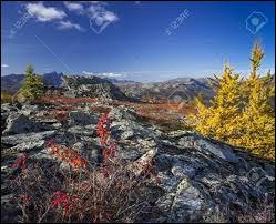 Où se situe la chaîne de montagnes de l'Oural ?