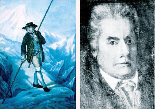 En quelle année fut gravi pour la première fois le mont Blanc ?