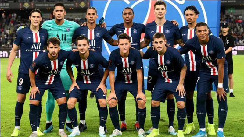 Quelle équipe est première du championnat français 2019/20 ?