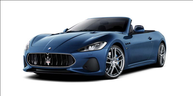 Quelle est cette voiture italienne, ayant pour emblème un trident ?
