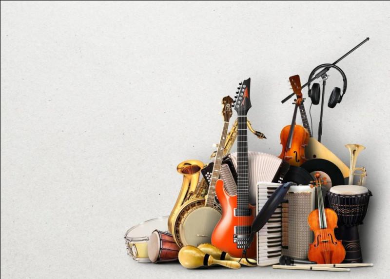 """Quel instrument de musique est parfois appelé, familièrement, une """"gratte"""" ?"""