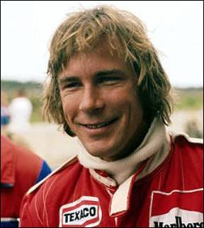 Qui est ce James, pilote automobile anglais qui a remporté le championnat du monde de Formule 1 en 1976, mort en 1993 ?