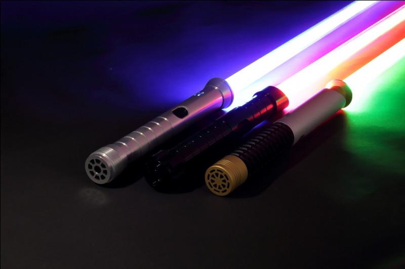 Combien y a-t-il de couleurs de sabre-laser ?