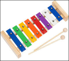 Bon, celui-là est pour enfant, mais cet instrument s'appelle...