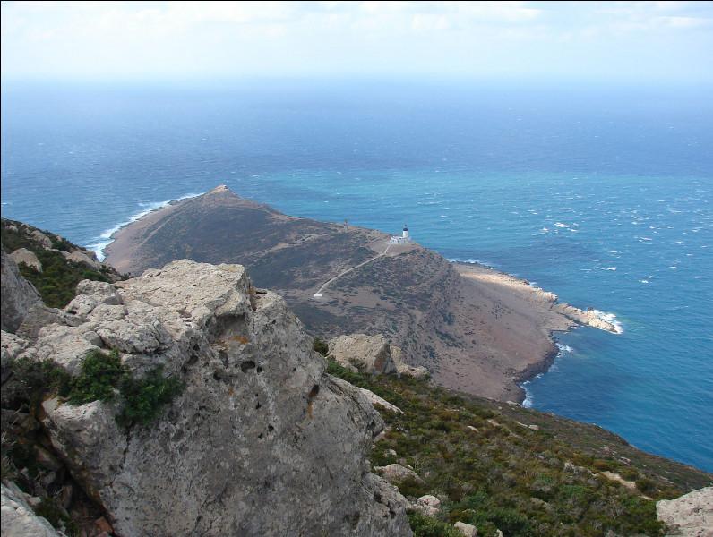 Quel est le nom de ce cap qui constitue la partie nord-est de la Tunisie ?