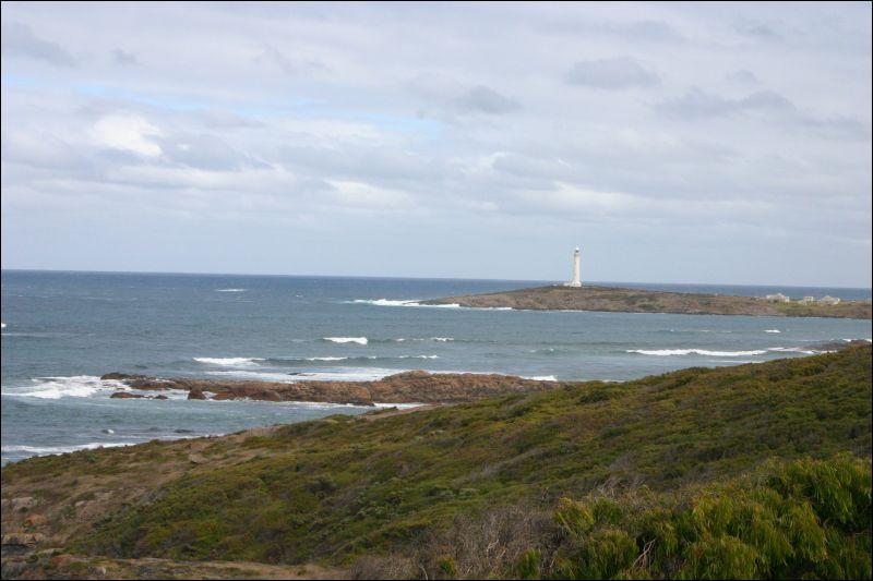 Quel est le nom du cap en forme d'enclume situé le plus au sud-ouest de l'Australie ?
