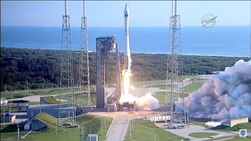 Quel est le nom de ce cap de Floride qui sert de site de lancement de véhicules spatiaux ?