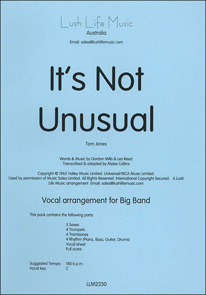 Qui a chanté ''It's Not Unusual'' ?