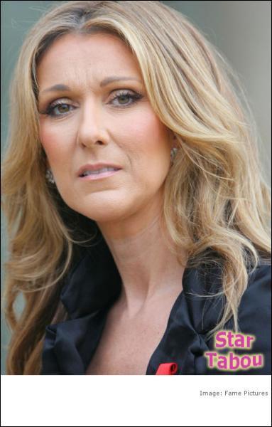 Vous me reconnaissez, je suis Céline Dion.