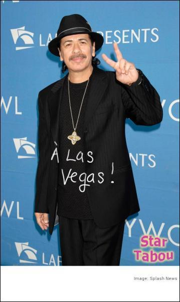 Je suis le célèbre guitariste Carlos Santana.