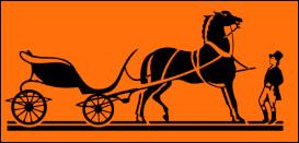 À quelle marque de luxe appartient ce cheval ?