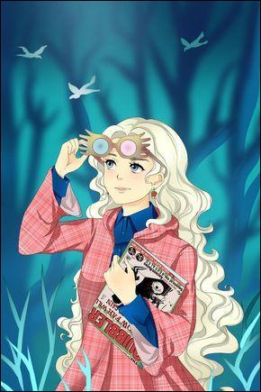Où Harry rencontre-t-il Luna Lovegood pour la première fois ?
