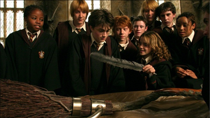 Quand Harry reçoit-il son Numbus 2000 ?
